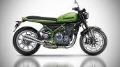 2018 Kawasaki Z900 RS IAB Rendering Green