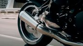2018 Kawasaki Z900 RS teased action exhaust