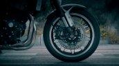 2018 Kawasaki Z900 RS teased front brake and wheel