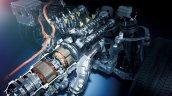 2018 Lexus LS multi-stage hybrid system