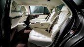 2018 Lexus LS rear seats (RHD version)