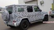 2018 Mercedes G-Class rear three quarters China spy shot