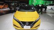2018 Nissan Leaf front at the Tokyo Motor Show