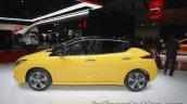 2018 Nissan Leaf side at the Tokyo Motor Show