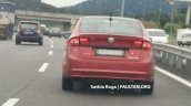 2018 Proton Preve rear spy shot