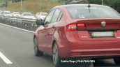 2018 Proton Preve rear three quarters spy shot