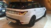 2018 Range Rover Sport rear three quarters