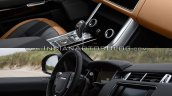 2018 Range Rover Sport vs. 2014 Range Rover Sport dashboard driver side side view