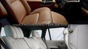 2018 Range Rover vs. 2013 Range Rover rear seats
