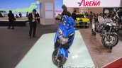 2018 Suzuki Swish scooter front at the Tokyo Motor Show