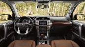 2018 Toyota 4Runner dashboard