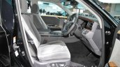 2018 Toyota Century at 2017 Tokyo Motor Show front seats