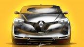 2019 Renault Clio front rendering