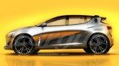 2019 Renault Clio profile rendering