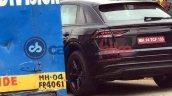 Audi Q8 exterior India spy shot