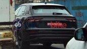 Audi Q8 rear three quarters India spy shot