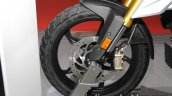 BMW G 310 GS front wheel at 2017 Tokyo Motor Show