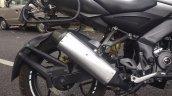 Bajaj Pulsar NS200 adventure mod ScientyKraft exhaust