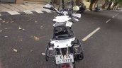 Bajaj Pulsar NS200 adventure mod ScientyKraft rear