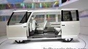 Daihatsu DN U-SPACE concept at the 2017 Tokyo Motor Show side view doors open