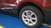 Ford EcoSport facelift alloy wheel