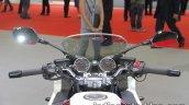 Honda CB1300 Super Boldor instrument cluster and handlebar at 2017 Tokyo Motor Show