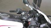 Honda CBR250RR Custom Concept handlebar mirrors dashboard