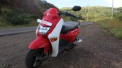Honda Cliq Review front left quarter