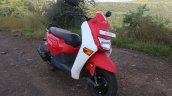 Honda Cliq Review front right quarter