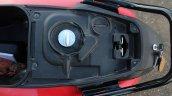 Honda Cliq Review fuel tank