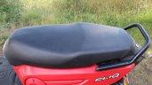 Honda Cliq Review seat
