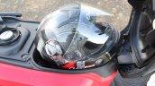 Honda Cliq Review underseat storage capacity