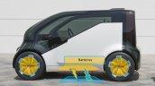 Honda NeuV concept rear three quarters specifications at 2017 Tokyo Motor Show