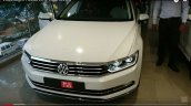 India-spec 2017 VW Passat front at dealership