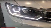 India-spec 2017 VW Passat headlamp at dealership