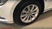 India-spec 2017 VW Passat wheel at dealership