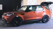 Indian-spec 2017 Land Rover Discovery front three quarters left side