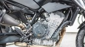 KTM 790 Duke pre production prototype engine right side