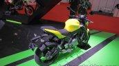 Kawasaki Z650 rear three quarters at 2017 Tokyo Motor Show