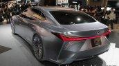 Lexus LS+ Concept at the 2017 Tokyo Motor Show left rear three quarters