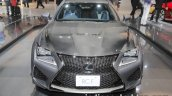 Lexus RC F 10th anniversary edition front at 2017 Tokyo Motor Show