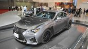 Lexus RC F 10th anniversary edition front three quarters left side at 2017 Tokyo Motor Show