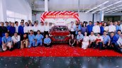 MG 6 production underway in China