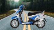 Mahindra Gusto RS Blue