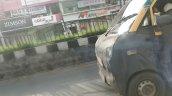 Mahindra Jeeto Minivan spy shot