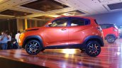 Mahindra KUV100 NXT Fiery Orange profile
