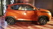 Mahindra KUV100 NXT Fiery Orange right side