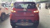 Mahindra KUV100 NXT Red & Black accessorised rear