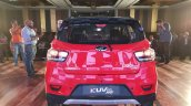 Mahindra KUV100 NXT Red & Black rear