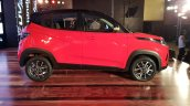 Mahindra KUV100 NXT Red & Black right side